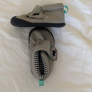 Carter's baby shoes with elephant